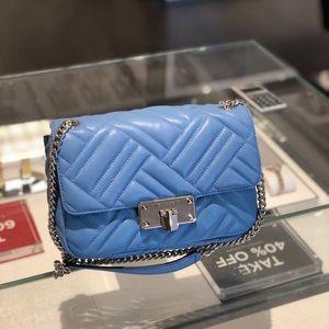 Michael Michael Kors MMK Leather Flap Shoulder Bag